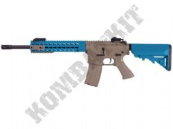 CM515 Electric Airsoft Rifle M4A1 RIS Long Carbine AEG BB Machine Gun Alloy Gear Box Tan & 2 Tone